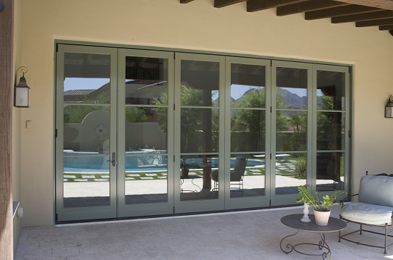 Slide Works Bi-Fold Sliding Door System